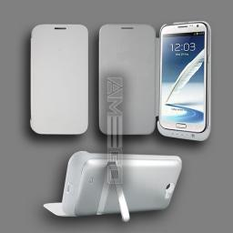 4200mAh Samsung Note 2 Power Case - Black or White Colour