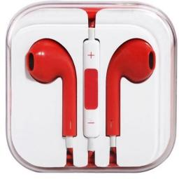 Earphones with Mic and Remote for iPhone 5 & 4 -  9 Colours