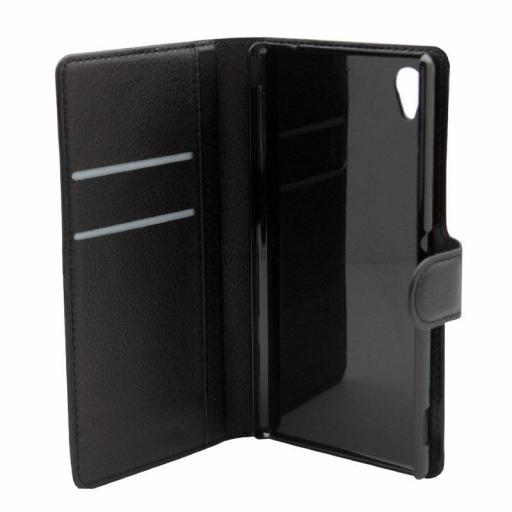 Sony Xperia M4 PU Wallet Case