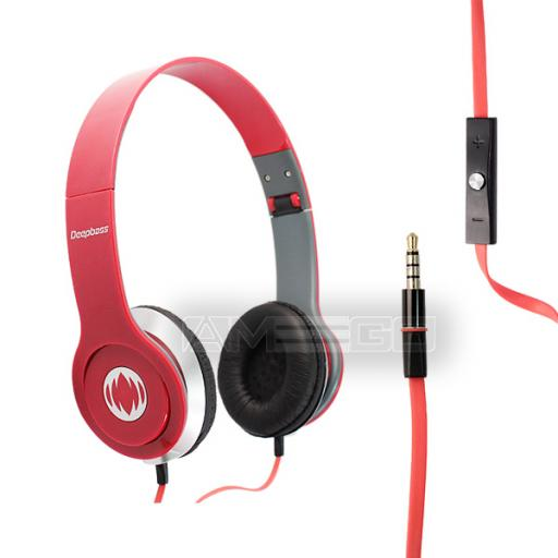 MD-81 HD Headphones with Super Bass for iPhone, iPod & Smart Phones - 7 Colours