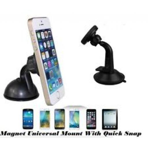 Universal Car Holder for Smart Phones (50-130mm) (1)