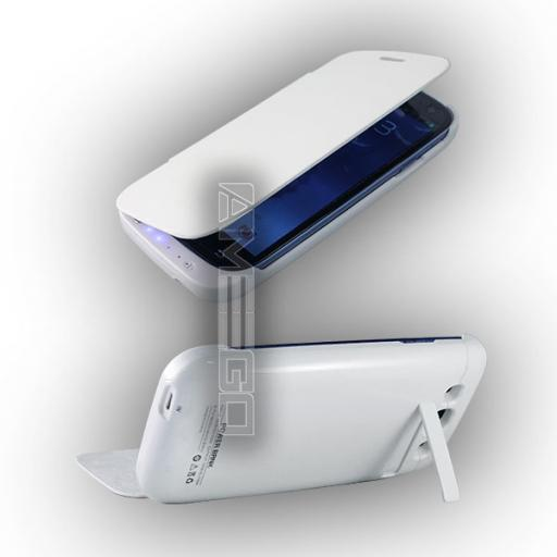 3200mAh Samsung S3 Power Case - Black or White Colour