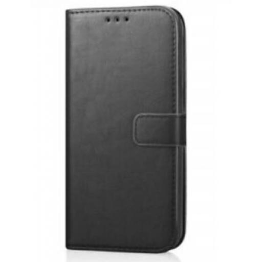 Samsung A20e Genuine Leather Wallet Case