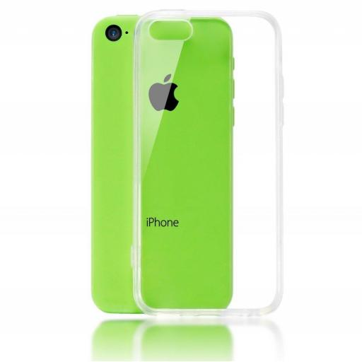 iPhone 5C Clear Gel Back
