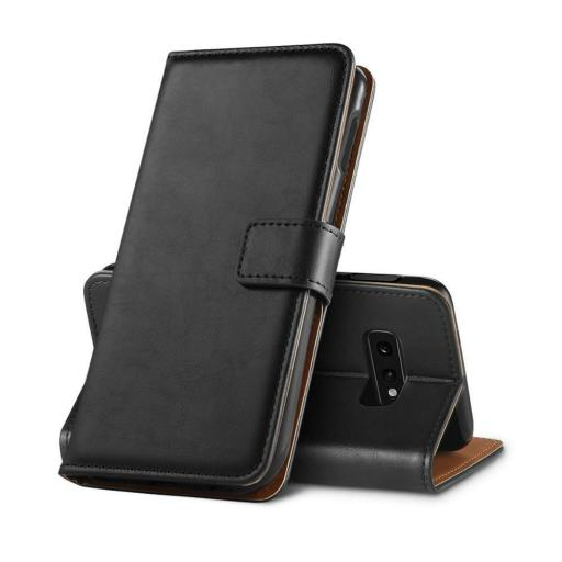 Samsung S10e Genuine Leather Wallet Case
