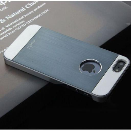 Silver Hard Back case for iphone 6 Plus