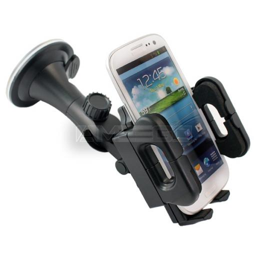 Universal Car Holder for Smart Phones (50-130mm)