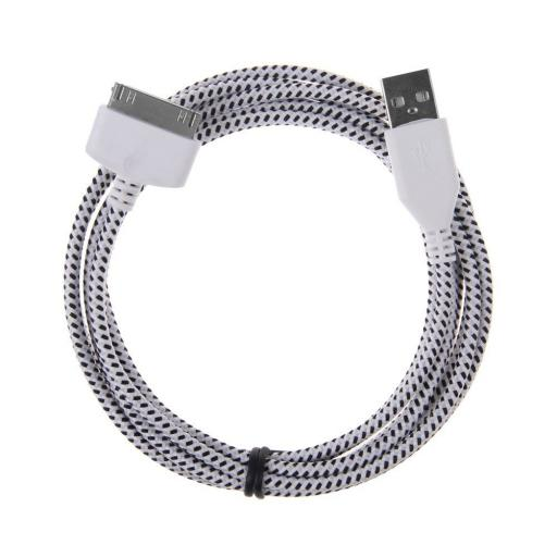 Strong Braided Cable for iPhone 4 4S iPad iPod 2 3 4