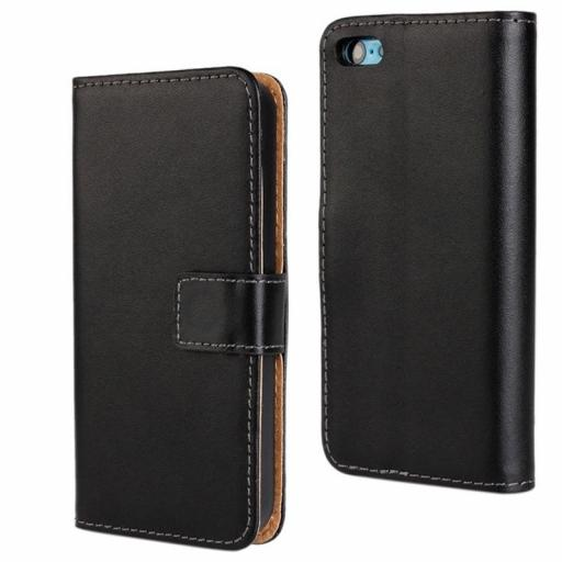 iPhone 5C Genuine Leather Wallet Case