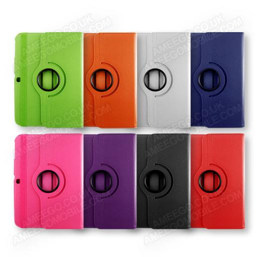 "Samsung Galaxy Tab 3 10.1"" P5200 360 Rotating Case - Various Colours"