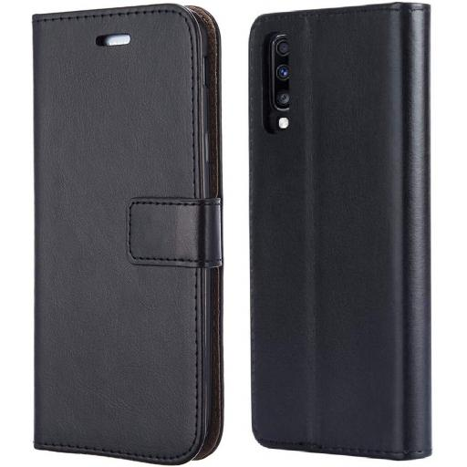 Samsung A70 Genuine Leather Wallet Case