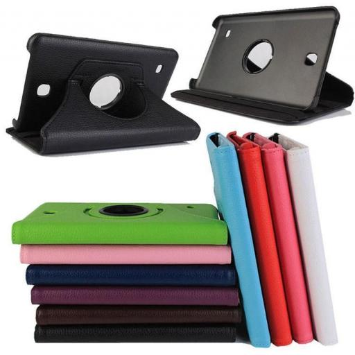 "Samsung Galaxy Tab 3 7"" P3200 360 Rotating Case - Various Colours"