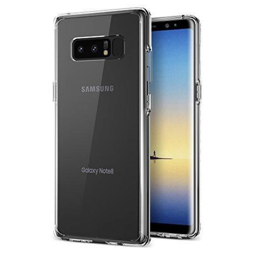 Note 8 Clear Gel Back