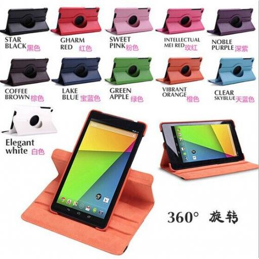"Google Nexus 7"" 2 360 Rotating Case - Various Colours"