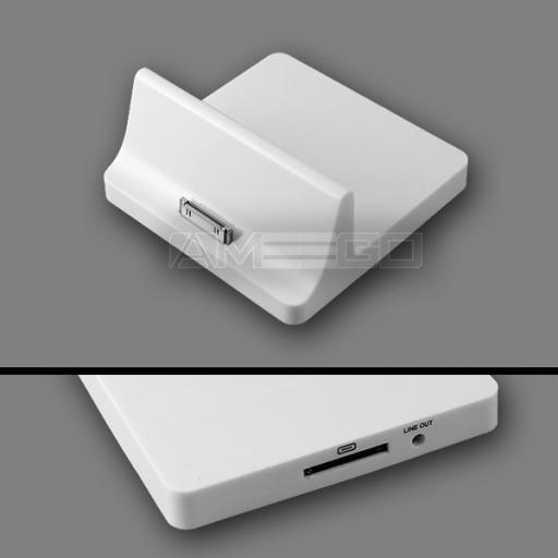 iPad 2 Charging Dock - Black or White Colour