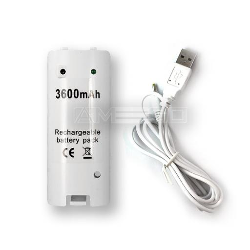 Rechargeable Battery Pack for Nintendo Wii