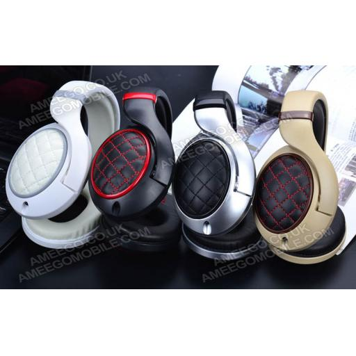 YongLe YL-EP11 Superb Quality 3.5 mm On-ear Headphones with Microphone & 1.2 m Cable - 5 Colours