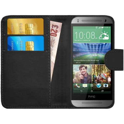 HTC M8 Mini PU Wallet Case