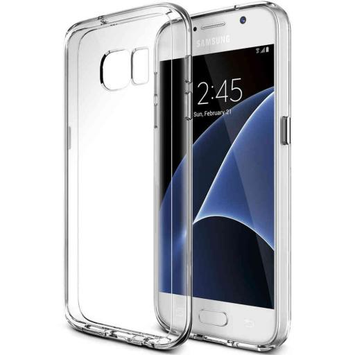 S7 Clear Gel Back Cover