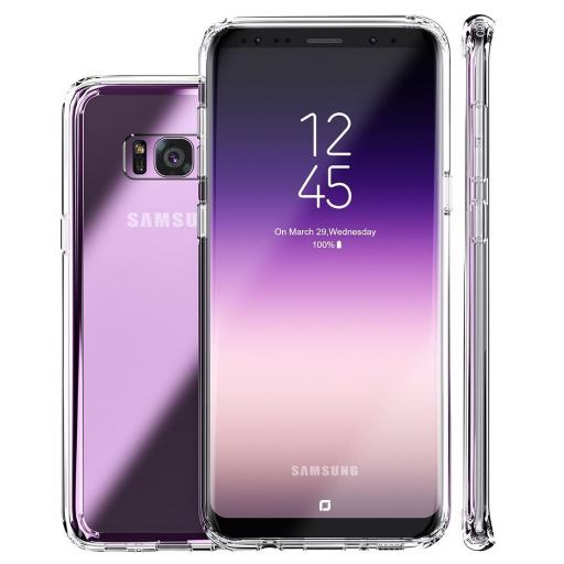 S8 Clear Gel Back