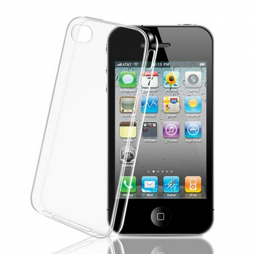 iPhone 4 Clear Gel Back