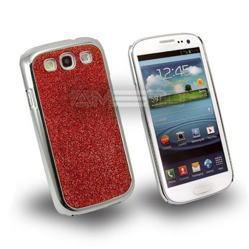 Samsung Galaxy S3 / i9300 Glitter Hard Back Case - Various Colours