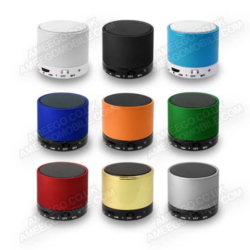 Colourful Bluetooth Mini Speakers