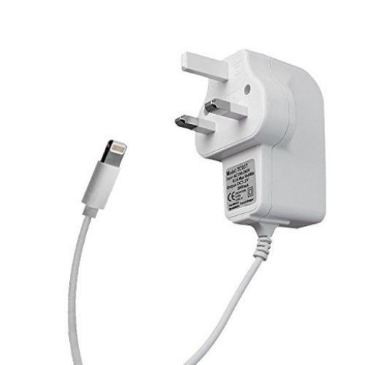 iPad 4/5 Mains Charger 2.1 Amp - White