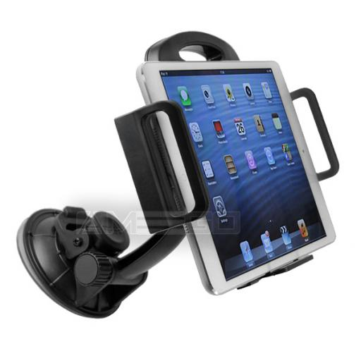 Car Holder for iPad, Tablet, GPS, DVD & TV (110-195mm) - Various Colours