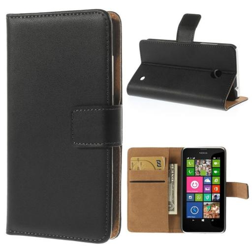 Genuine Leather Wallet Cases for NOKIA
