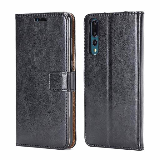 Huawei Y7 Pro 2019 Genuine Leather Wallet