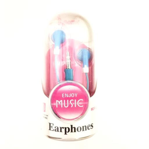 MDR-326 Earphones Stereo Sound 3.5mm Plug - 4 Colours