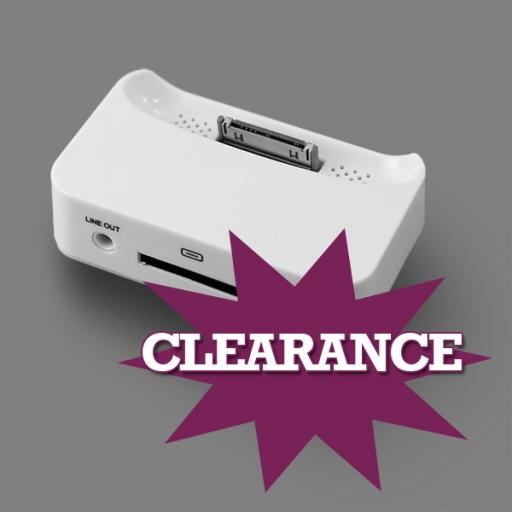 CLEARANCE: iPhone 3G / 3GS Charging Dock - Black or White Colour