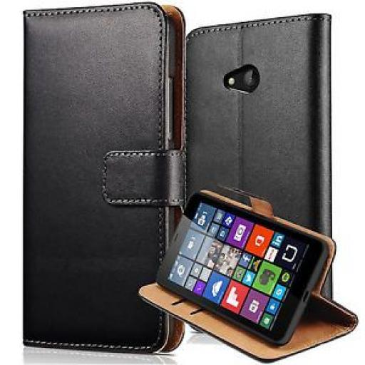 Nokia Lumia 550 Genuine Leather Wallet