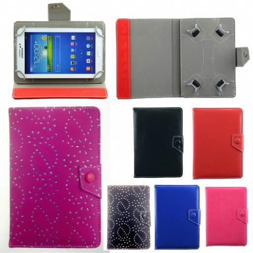 Universal Foldable synthetic leather protective 7/8/10 inch tablet cases