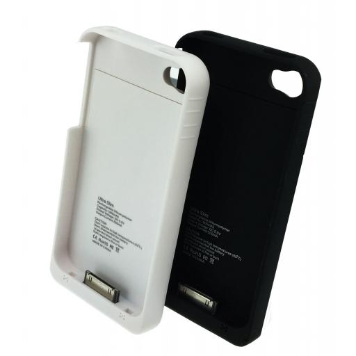 iPhone 4/4S External Battery Case Power Charger 1900mAh - 2 Colours