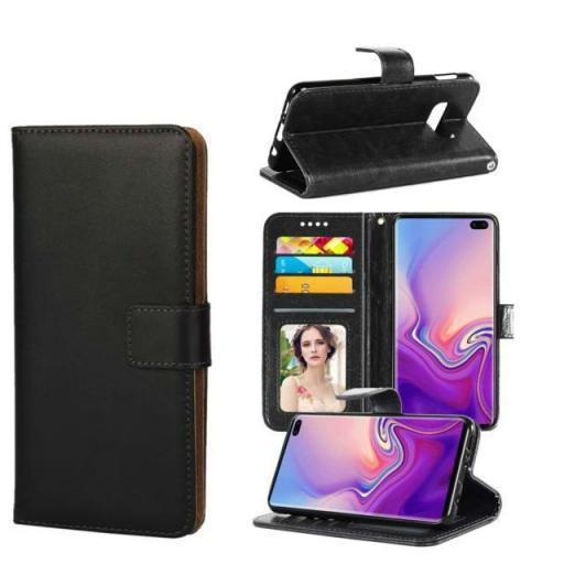 Samsung S10 Genuine Leather Wallet Case