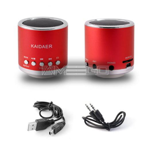 Kaidaer Mini Speakers - 7 Colour Choices