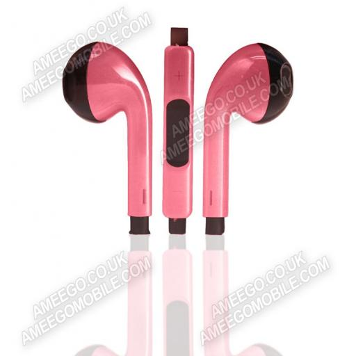 Dual Colour EarPods / Earphones with Mic and Remote