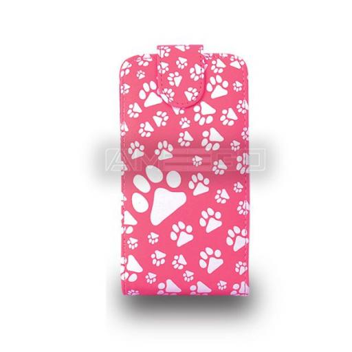 Animal Footprint Flip Case ( PU Leather ) for NOKIA