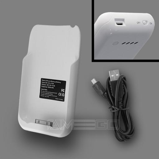 iPhone 3G / 3GS Backup Battery - White Colour