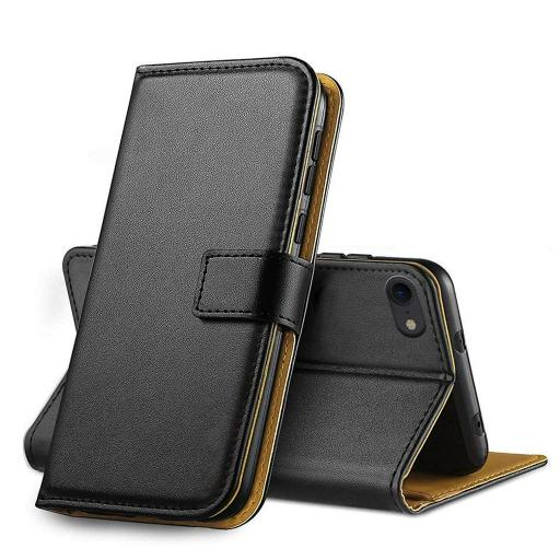 iPhone 7/8 Plus Genuine Leather Wallet Case