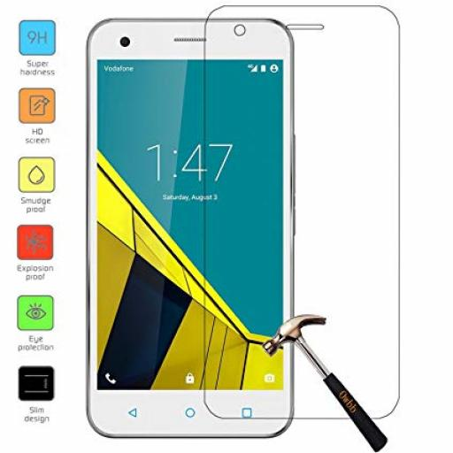 2.5D Tempered Glass Screen Protectors for Vodaphone Ultra 6