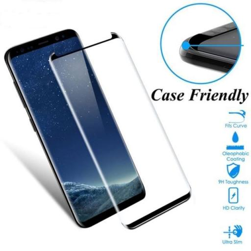 5D Case Friendly High Quality Tempered Glass Screen Protectors for Samsung