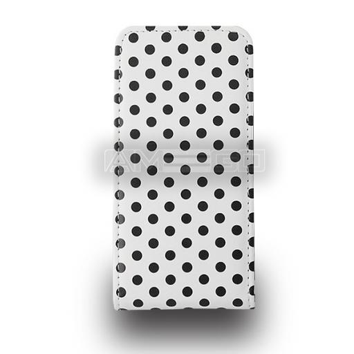 Polka Dots Flip Case for Samsung S3, Ace 2 and Ace Plus - Various Colours & Models