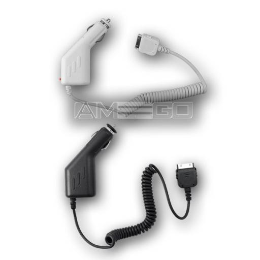 Car Charger for iPhone 4 / 4S / 3G / 3GS - Black or White Colour