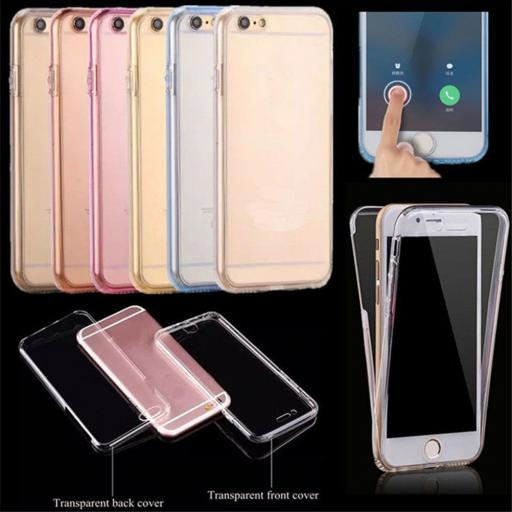 "Samsung ""S"" Series Front/Back TPU/Gel Case"