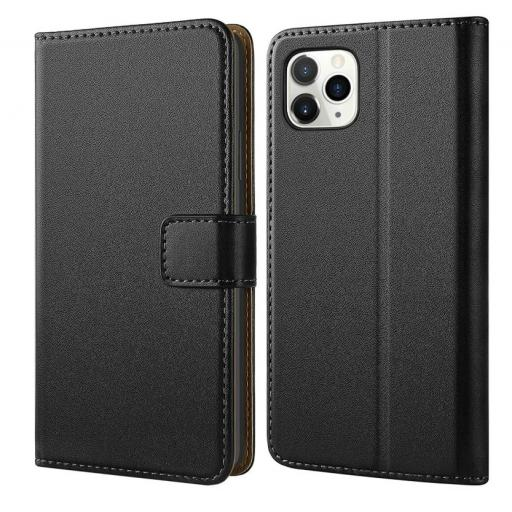 iPhone 11 Pro Max Genuine leather wallet case