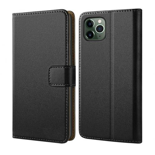 iPhone 11 Pro Genuine leather wallet case