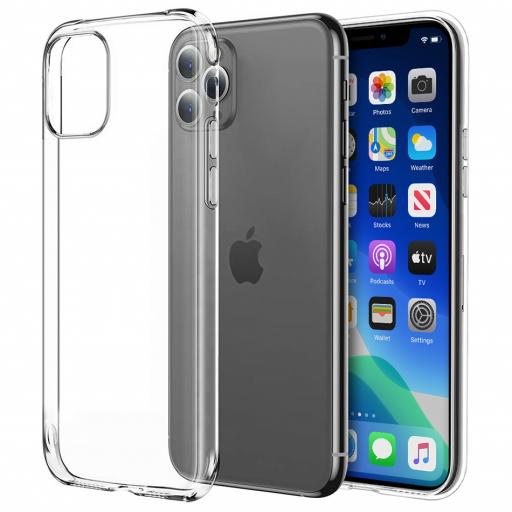 iPhone 11 Pro Clear Gel Case